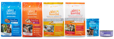 Petco expands exclusive WholeHearted product line with new cat formulas