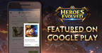 Heroes Evolved Featured on Google Play, Times Square, & More!