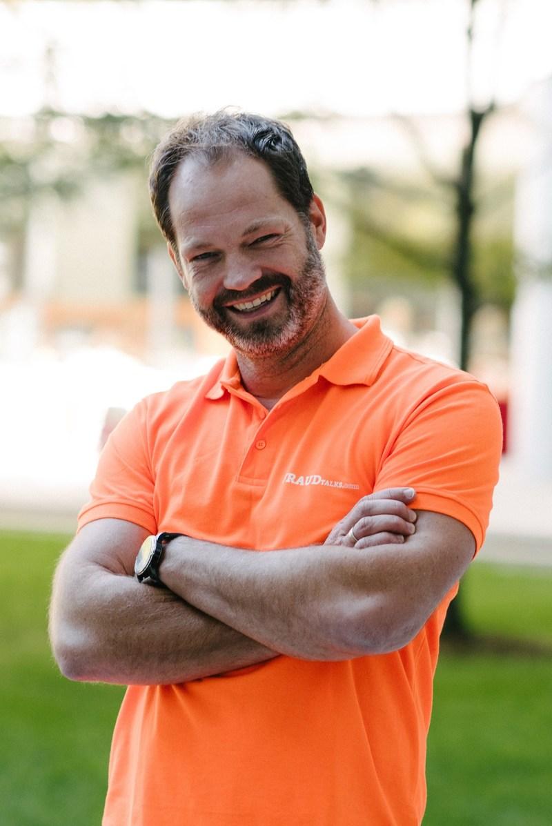Jeroen Morrenhof, CEO of FRISS and top investment award winner of VentureClash 2017