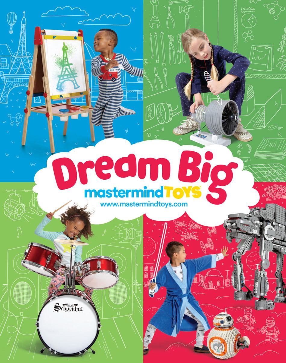 This Holiday Season, Dream Big! (CNW Group/Mastermind Toys)