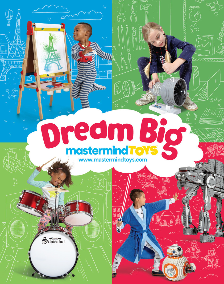 This Holiday Season, Dream Big! (CNW Group/Mastermind Toys)