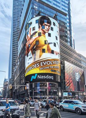 Heroes Evolved Estrelando na Times Square, em Nova York