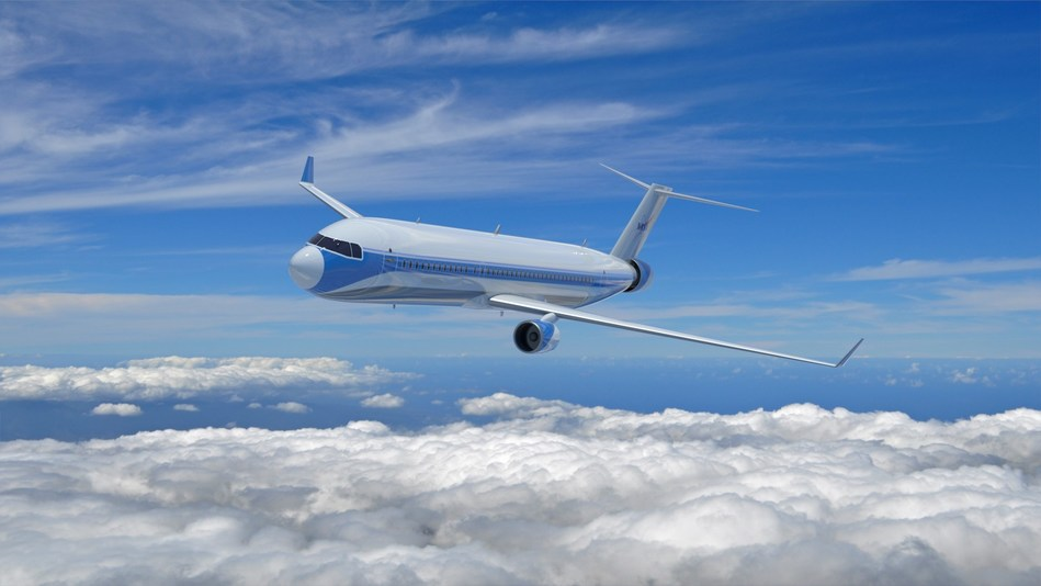 Concept of Single-aisle Turboelectric Aircraft with Aft Boundary Layer propulsion (STARC-ABL)