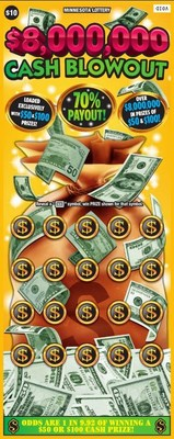 Minnesota Lottery's $8,000,000 Cash Blowout (CNW Group/Pollard Banknote Limited)