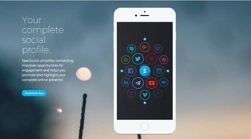 Spectrums simplifies your complete social profile (CNW Group/Spectrums)