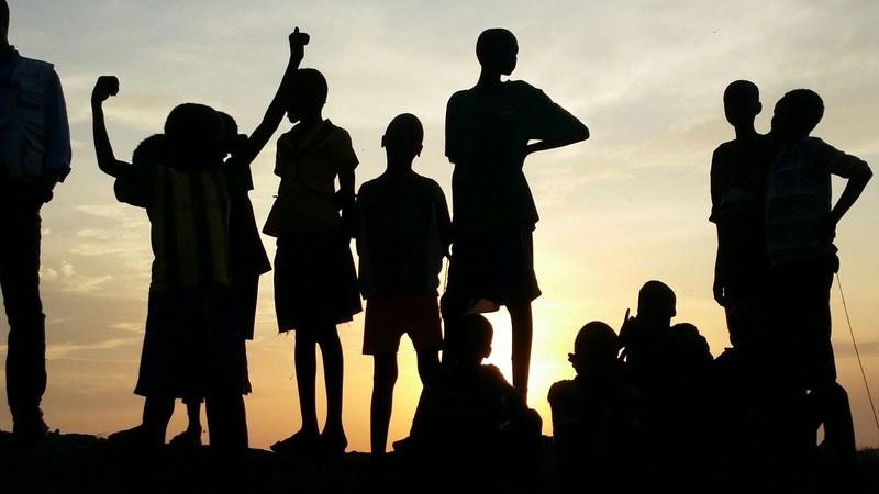 Au Soudan du Sud, le président et chef de la direction d'UNICEF Canada, David Morley, a rencontré les enfants qui souffrent des conséquences du conflit. © UNICEF Canada/Morley (Groupe CNW/UNICEF Canada)