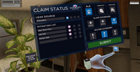 Farmers Insurance claims trainees can navigate through an intuitive gamified learning course with more than 500 realistic damage combinations and scenarios using the insurer's new virtual reality claims training program
