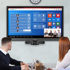 Through the Logitech Collaboration Program, ViewSonic augments Logitech solutions to provide a more complete and enhanced user experience that is optimized for groups to collaborate anytime and anywhere. (CNW Group/ViewSonic)