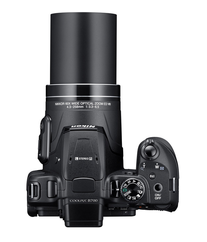 An easy, affordable superzoom with 4K resolution, the COOLPIX B700 packs an astonishing 60x optical zoom that can capture birds in flight and other distant subjects (CNW Group/Nikon Canada)