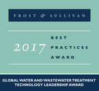 Frost & Sullivan Recognizes Newterra, Ltd. for Its Technological Leadership in the Water and Wastewater Treatment Systems Industry