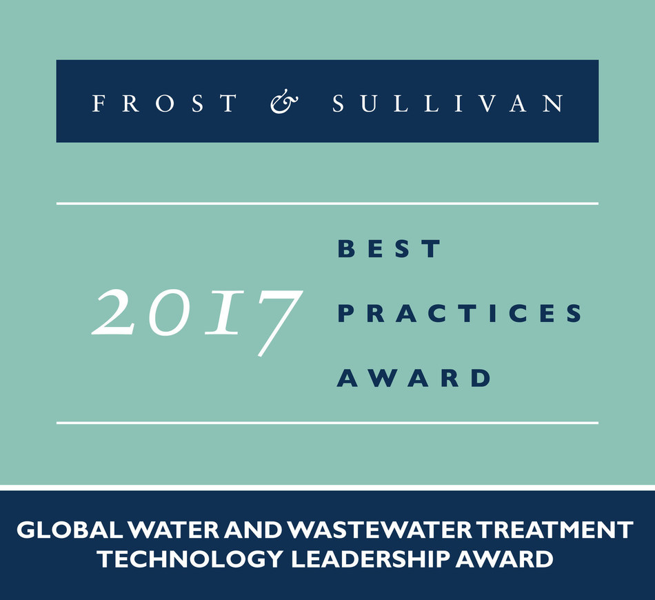 2017 Global Water and Wastewater Treatment Technology Leadership Award
