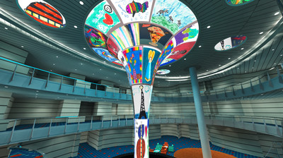 CARNIVAL HORIZON DREAMSCAPE LED ATRIUM SCULPTURE TO FEATURE ARTWORK CREATED BY ST.JUDE CHILDREN'S RESEARCH HOSPITAL® PATIENTS