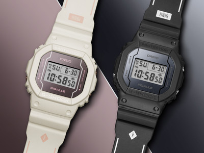 Limited Edition G-SHOCK Collaboration With French Streetwear Brand Pigalle