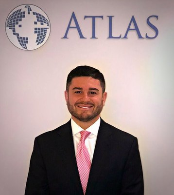 Bryant Vargas pictured in Atlas Search's world headquarters