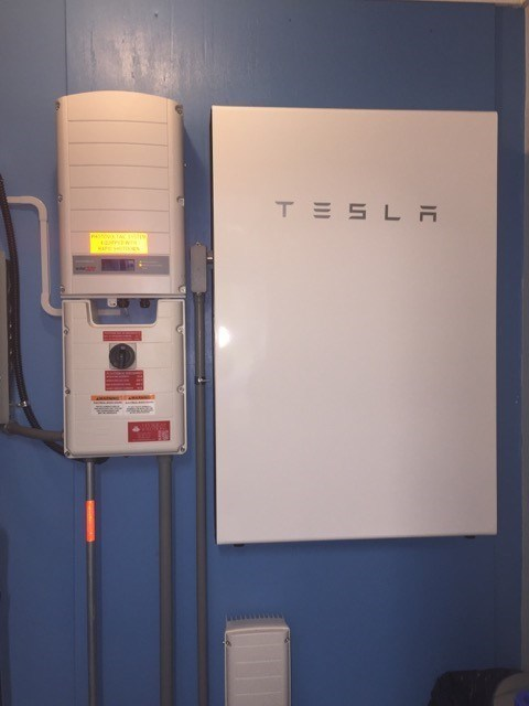 First NC Tesla Powerwall Installation