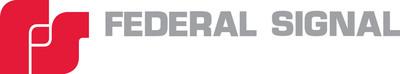Federal Signal Corporation Logo. (PRNewsFoto/Federal Signal Corporation)