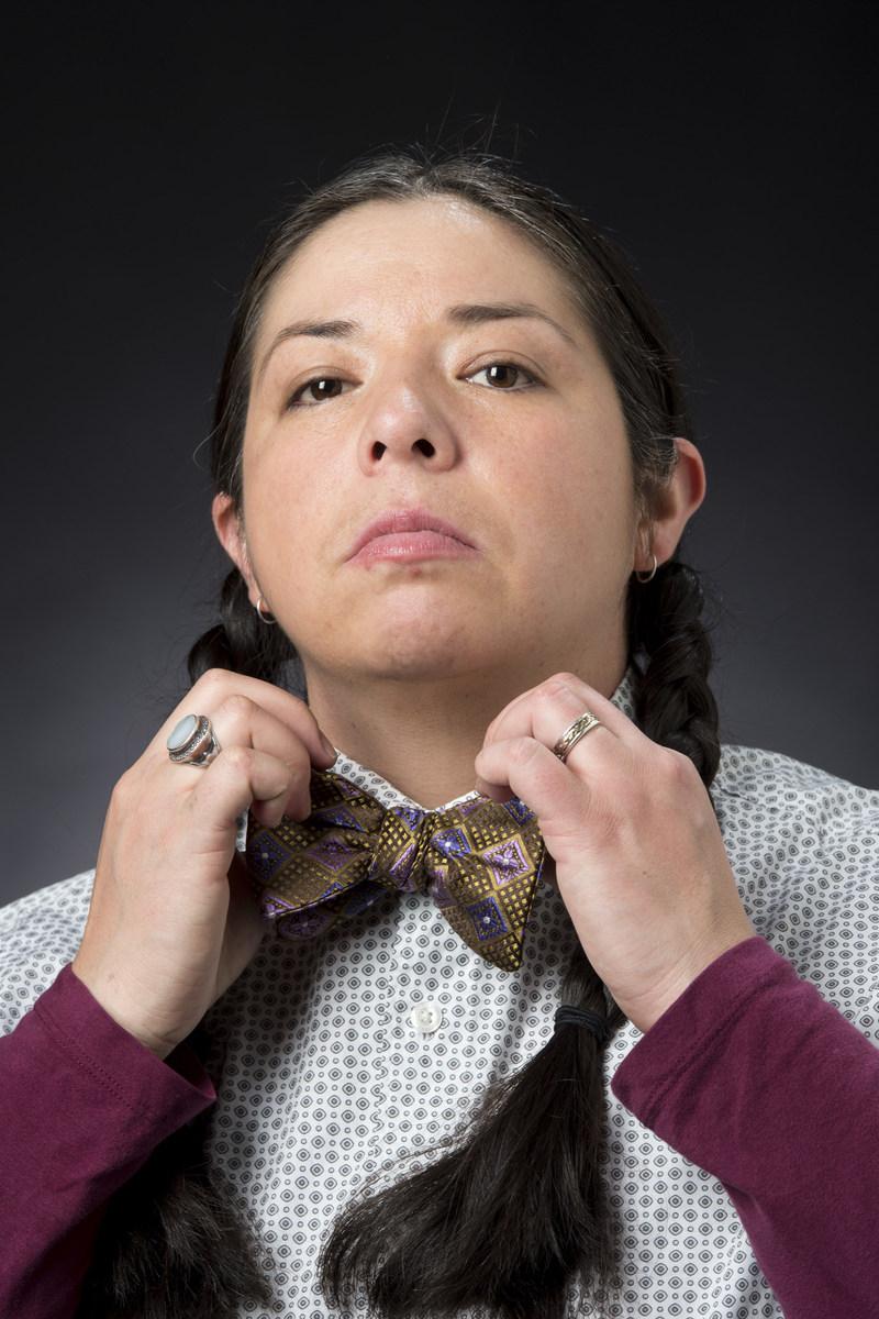 Ursula Johnson. Photo : Rita Taylor, avec la permission du Banff Centre (Groupe CNW/Musée des beaux-arts du Canada)