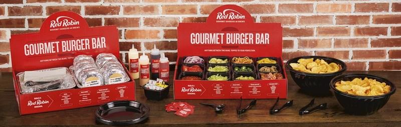 Red Robin's new Gourmet Burger Bar