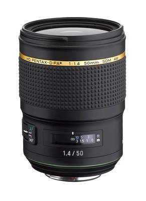 The HD PENTAX-D FA* 50mm F1.4 SDM AW will be on display as a reference product at Photo Plus Expo 2017 at the Javits Convention Center in New York (October 26-28).