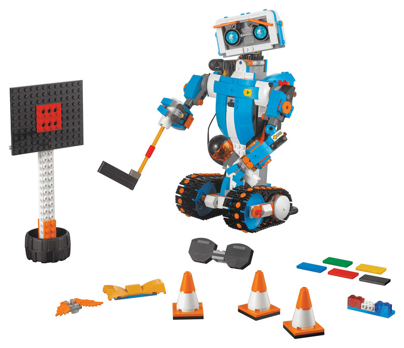 """La boîte à outils créative LEGO BOOST de LEGO™ (Groupe CNW/Toys """"R"""" Us (Canada) Ltd.)"""