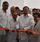 M Venkaiah Naidu and Gati Founder CEO, Mahendra Agarwal Inaugurating Gati Drivers Training Institute (PRNewsfoto/Gati Limited)