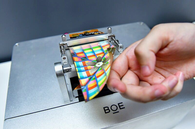 BOE flexible AMOLED display panel