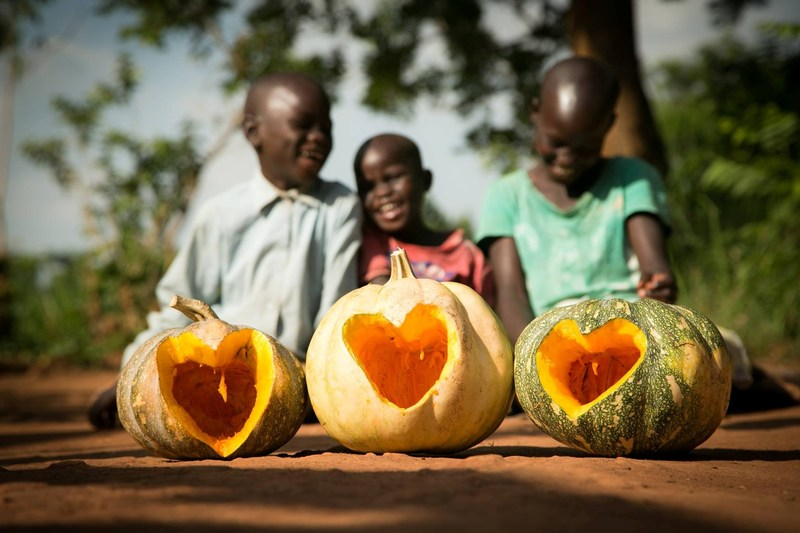 Put some love on your doorstep and #CarveAHeart in your pumpkin. Upload a picture of your pumpkin to Instagram to be entered in World Vision's Pumpkin Carving Contest (CNW Group/World Vision Canada)