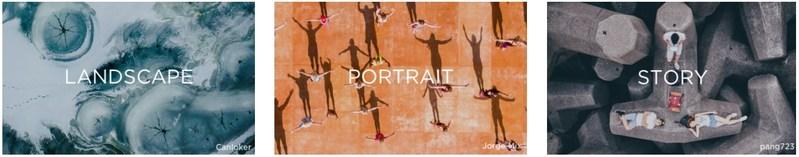 Landscape | Portrait | Story