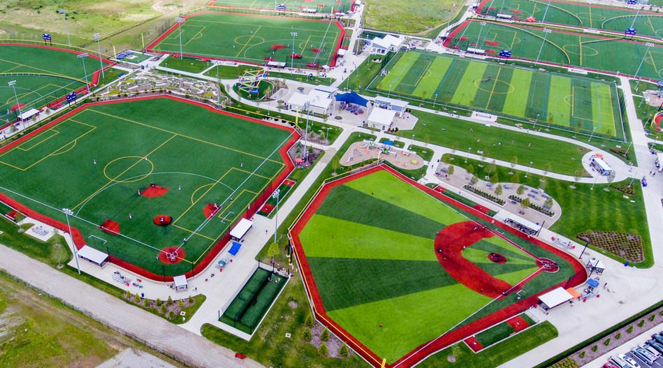 Sports Force Parks at Cedar Point Sports Center in Sandusky, Ohio