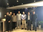 Image caption: (from left to right) Zhangfeng Zheng, director of the CQC, Chen Liu (CQC), Guangcheng Zhang, deputy director CQC, Mark Curtis, Focus SB's technical manager, Duncan Ray, Focus SB's NPI manager, Mark Tang, Kursel Ltd and Mr Yu, Hangzhou branch director CQC. (PRNewsfoto/Focus SB Ltd)