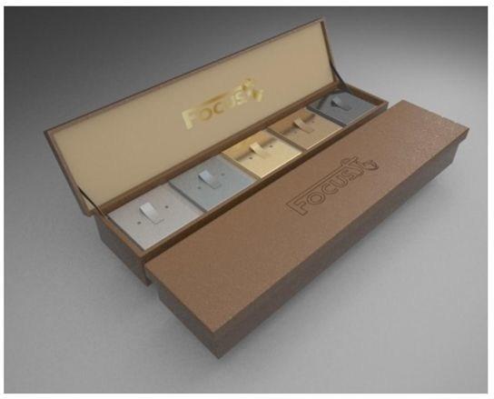 Beautifully presented Focus SB product consultant sample showcase. (PRNewsfoto/Focus SB Ltd)