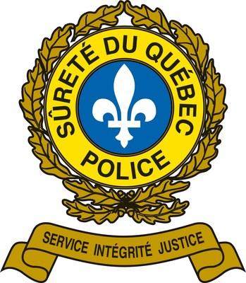Logo : Sûreté du Québec (Groupe CNW/Sûreté du Québec)