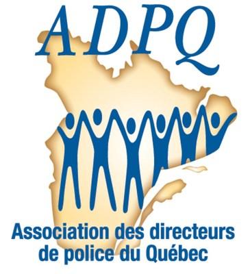Logo : Association des directeurs de police du Québec (Groupe CNW/Sûreté du Québec)