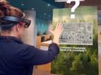 Voyager dans le passé grâce à la réalité augmentée : une expérience à vivre gratuitement à la Grande Bibliothèque - Rendez-vous du 2 au 5 novembre à la 3e Foire numérique de BAnQ.– Photo : Mixa Vision (Groupe CNW/Bibliothèque et Archives nationales du Québec)
