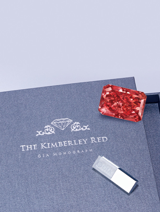 The 1 00 Carat Argyle Fancy Red Diamond Named Kimberly Is Most