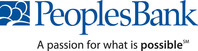 PeoplesBank - a passion for what is possible (sm). (PRNewsFoto/PeoplesBank)