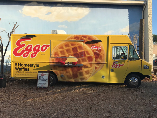 Eggo feeds first fans to finish second season.