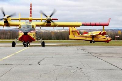 Avion du service aérien gouvernemental (Groupe CNW/Cabinet de la ministre déléguée aux transports)