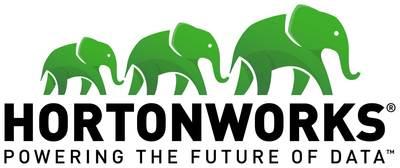 Hortonworks logo. (PRNewsFoto/Hortonworks)