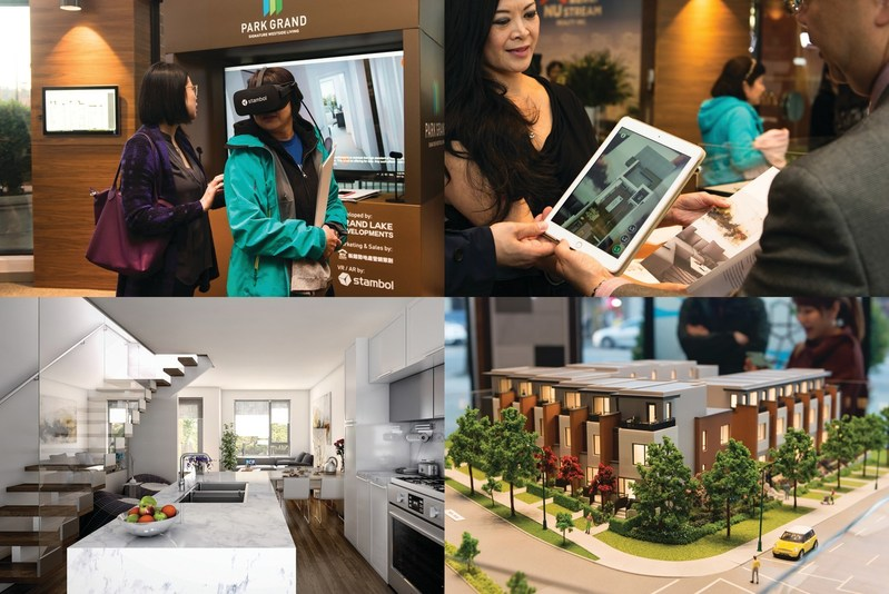 Developer Wows with VR & AR at Presentation Centres (CNW Group/Stambol Studios Inc.)