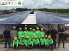 Enerray UAC Thailand Solar Epc Photo Voltaic Plant Thai Metal Trade Thailand (PRNewsfoto/Enerray UAC Thailand)