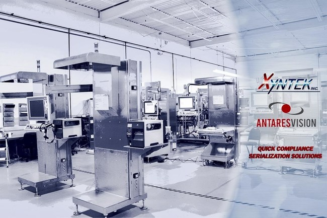 Xyntek Newtown Headquarters showcasing Antares Vision Quick Compliance Serialization Solutions