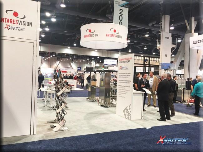 Xyntek and Antares Vision at PACK EXPO Las Vegas 2017