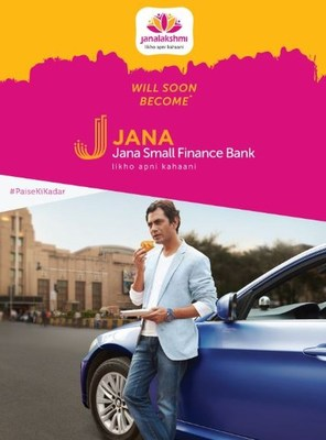 Nawazuddin Siddiqui Named as a Brand Ambassador of Janalakshmi that is Soon to Become Jana Small Finance Bank