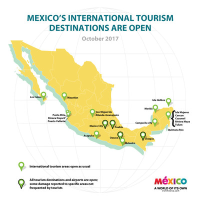 Mexicos Destinations Are Open And Ready To Welcome You - Airports in mexico