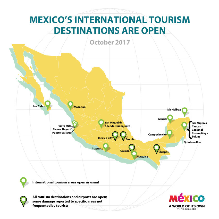 (PRNewsfoto/Mexico Tourism Board)...