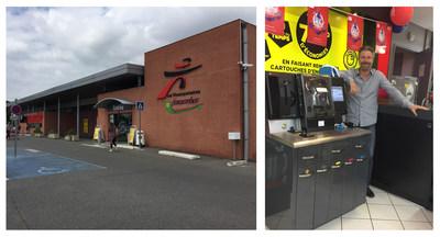 Intermarche Supermarket - Fonsorbes / Mr. Vergez with the RIS InkCenter®