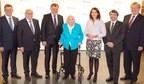 German Environmental Prize 2017: J. und B. Oswald, Prof. Dr. W. Wahmhoff, I. Sielmann, R. Schwarzelühr-Sutter, Dr. K. Frobel, Prof. Dr. H. Weiger (PRNewsfoto/Deutsche Bundesstiftung Umwelt)