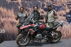 (L - R) Winners of the BMW Motorrad International GS Trophy India qualifier Mr. Sanket Shanbhag, Mr. Winston Lee and Mr. Suprej Venkat. (PRNewsfoto/BMW India Private Limited)