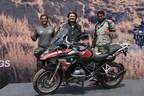 (L - R) Winners of the BMW Motorrad International GS Trophy India qualifier Mr. Sanket Shanbhag, Mr. Winston Lee and Mr. Suprej Venkat. (PRNewsfoto/BMW India Private Limited)